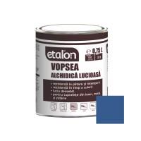 Vopsea alchidica pentru lemn / metal, Etalon, interior / exterior, albastru inchis, 0.75 L