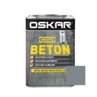 Vopsea acrilica Direct pe beton Oskar, exterior, gri antracit, 0.75 L