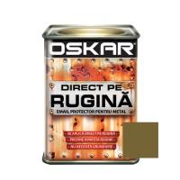 Vopsea alchidica Direct pe rugina Oskar, interior / exterior, auriu metalizat, 0.5 L