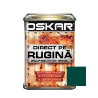 Vopsea alchidica Direct pe rugina Oskar, interior / exterior, verde inchis lucios, 0.5 L