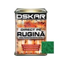 Vopsea alchidica Direct pe rugina Oskar, interior / exterior, verde inchis - lovitura de ciocan, 0.5 L