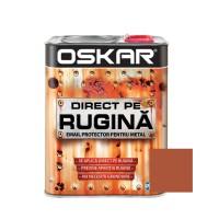 Vopsea alchidica Direct pe rugina Oskar, interior / exterior, cupru metalizat, 2.5 L