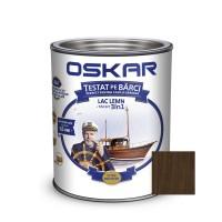 Lac pentru lemn Oskar Yacht, mahon inchis, interior / exterior, 2.5 L