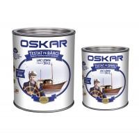 Lac pentru lemn Oskar Yacht, tec african, interior / exterior, 2.5 L + 0.75 L