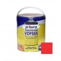 Vopsea alchidica pentru lemn / metal, Pitura, interior / exterior, rosu inchis V53260, 4 L