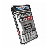 Adeziv pentru marmura si granit Adeplast Marmorex, interior / exterior, alb, 25 kg