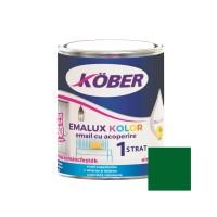 Vopsea alchidica pentru lemn / metal, Kober Emalux Kolor, interior / exterior, verde, 0.75 L
