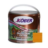 Lac / lazura groasa pentru lemn, Kober Extra 3 in 1, pin, interior / exterior, 2.5 L