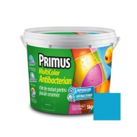 Chit de rosturi gresie si faianta Primus Multicolor Antibacterian B44 magic mint, interior / exterior, 5 kg