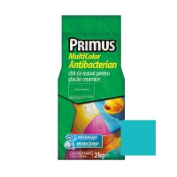 Chit de rosturi gresie si faianta Primus Multicolor Antibacterian B44 magic mint, interior / exterior, 2 kg