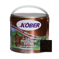 Lac / lazura groasa pentru lemn, Kober Extra 3 in 1, wenge, interior / exterior, 2.5 L