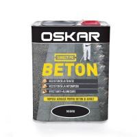 Vopsea acrilica Direct pe beton Oskar, exterior, neagra, 2.5 L