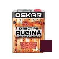 Vopsea alchidica Direct pe rugina Oskar, interior / exterior, visiniu lucios, 2.5 L