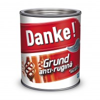 Grund pentru metal Danke, interior / exterior, gri, 0.75 L