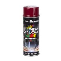 Spray vopsea, Den Braven Super Color Universal, rosu Ruby Red RAL 3003, interior / exterior, 400 ml