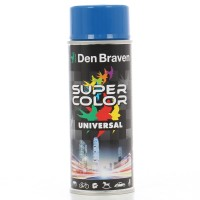 Spray vopsea, Den Braven Super Color Universal, albastru semnal RAL 5005, interior / exterior, 400 ml