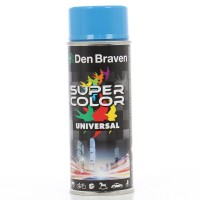 Spray vopsea, Den Braven Super Color Universal, albastru ciel RAL 5015, interior / exterior, 400 ml