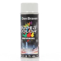 Spray vopsea, Den Braven Super Color Universal, gri deschis RAL 7035, interior / exterior, 400 ml