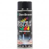 Spray vopsea, Den Braven Super Color Universal, negru intens, interior / exterior, 400 ml