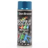 Spray vopsea, Den Braven Super Color Metalic, albastru, interior / exterior, 400 ml