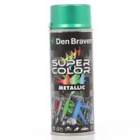 Spray vopsea, Den Braven Super Color Metalic, verde, interior / exterior, 400 ml