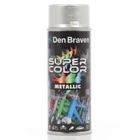Spray vopsea, Den Braven Super Color Metalic, silver, interior / exterior, 400 ml