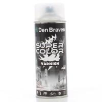 Spray lac, Den Braven Super Color, transparent satin mat, interior / exterior, 400 ml