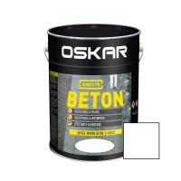 Vopsea acrilica Direct pe beton Oskar, exterior, alb, 10 L