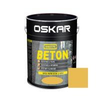 Vopsea acrilica Direct pe beton Oskar, exterior, galben, 10 L
