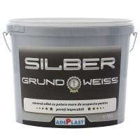 Amorsa perete Adeplast Silber Grund Weiss, interior, 15 L