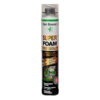 Spuma poliuretanica, aplicare cu pistol, Den Braven Super Foam, 870 ml