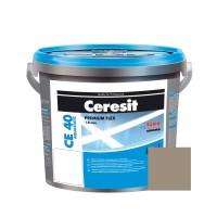 Chit de rosturi gresie si faianta Ceresit CE 40, cement grey, interior / exterior, 5 kg