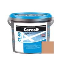 Chit de rosturi gresie si faianta Ceresit CE 40, toffi, interior / exterior, 5 kg