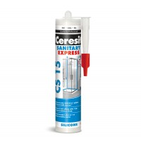 Silicon sanitar, alb, Ceresit Express CS 15, interior / exterior, 280 ml