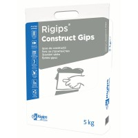 Ipsos de constructii Rigips Construct Gips, interior, 5 kg