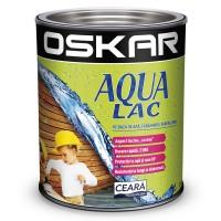 Lac pentru lemn Oskar Aqua Lac, alun, pe baza de apa, interior / exterior, 2.5 L