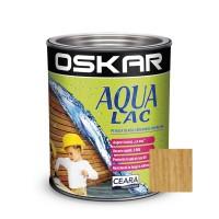 Lac pentru lemn Oskar Aqua Lac, stejar, pe baza de apa, interior / exterior, 2.5 L