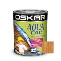 Lac pentru lemn Oskar Aqua Lac, mahon, pe baza de apa, interior / exterior, 2.5 L