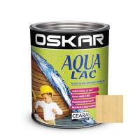 Lac pentru lemn Oskar Aqua Lac, incolor, pe baza de apa, interior / exterior, 2.5 L