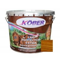 Lac / lazura groasa pentru lemn, Kober Extra 3 in 1, nuc mediu, interior / exterior, 10 L