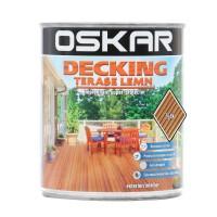 Impregnant pentru lemn, Oskar Decking, tec, 0.75 L