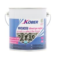 Vopsea alchidica pentru metal Kober efect fier forjat, interior / exterior, bronz perlat, 2.5 L