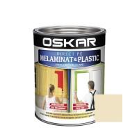 Vopsea Direct pe melaminat si plastic Oskar, interior, diluabila cu apa, crem deschis / tiramisu, 0.6 L