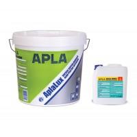 Vopsea lavabila interior, AplaLux, alba, 15 L + Amorsa 4 L