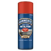 Spray email Hammerite, efect lucios, interior / exterior, rosu, 0.4 L
