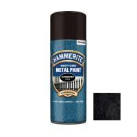 Spray email Hammerite, efect lovitura de ciocan, interior / exterior, negru, 0.4 L