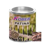 Vopsea patinata pentru metal Kober, interior / exterior, cupru, 0.2 L