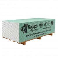 Placa gips carton tip FH2  protectie foc si umiditate Rigips RFI 15 x 1200 x 2000 mm