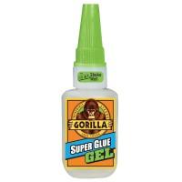 Adeziv universal Gorilla Super Glue Gel, transparent, 15 gr.
