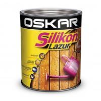 Lazura pentru lemn, Oskar Silikon Lazur, mahon, interior / exterior, 0.75 L